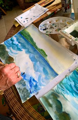 Adult Art Lessons Palm Coast Florida