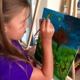 2018 Kids Art Lessons