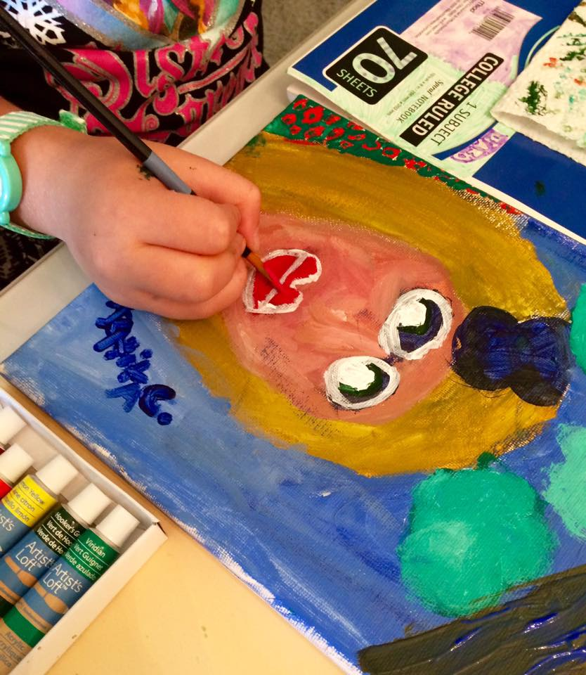 self portrait art lessons katerina art studio
