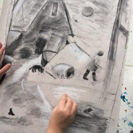 Pastel Charcoal Art Lessons