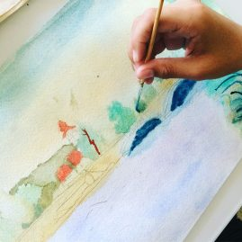 Watercolor Art Lessons Palm Coast Florida